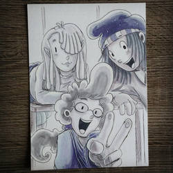 Pepper Ann and Friends by CrystalC33