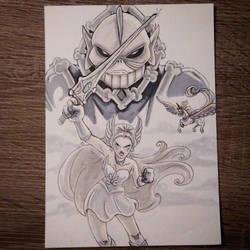 She-Ra Princess of Power by CrystalC33
