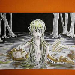 Mermay 2018 - Swamp by CrystalC33