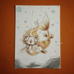 Mermay - Goldfish by CrystalC33