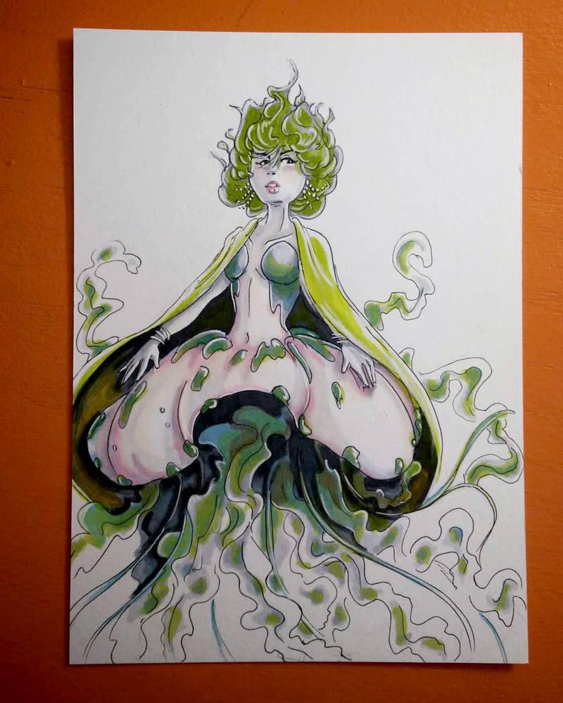 Mermay Day 05 - jellyfish by CrystalC33
