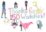 Thanks for 150 Watches! by marylizabetha
