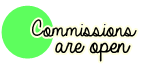 Open commissions stamp by TheGreatMustache