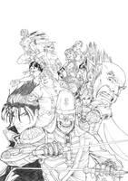 Tekken 6 BR fanart by stefoto