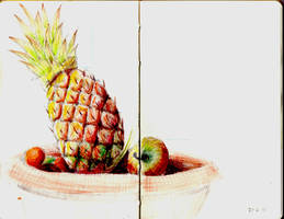 Moleskine Page 6 - Fruit Bowl by otohime0394