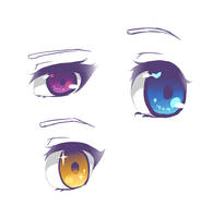 eyes by Naoyin