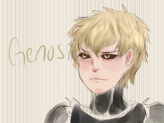 stream drawing genos by little-x-flower