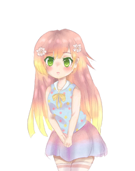 Kana (speedpaint link) by little-x-flower