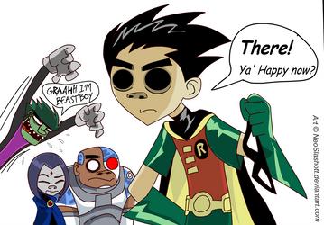 Teen Titans - Teen Gorillaz by NeoSlashott
