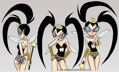 Three Tootie Tooth Fairy poses by NeoSlashott