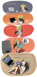 Ardiet Comic - A Laptop Story? by NeoSlashott