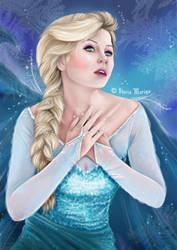 Elsa by Riafairyface