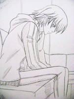 Sketch~Misaki - Junjou Romantica by lessa-ok