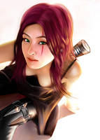 LOL - katarina by icicicic