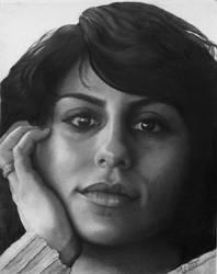 Portrait of Javaneh by zoobyshoe