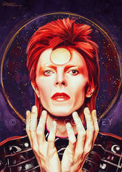 Ziggy Stardust by sophiecowdrey
