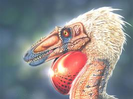 Alioramus remotus by PaleoPastori