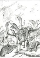 Thecodontosaurus by PaleoPastori