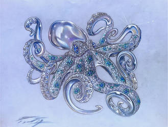 The Octopus Ravishing Allure by PaleoPastori