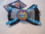 Piplup Hair Bow- for sale by CL-Pinkskull