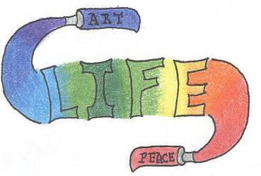 Art-Life-Peace by UsagiAkuma