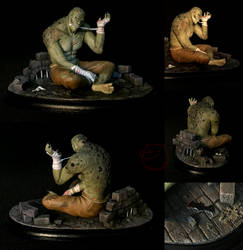 Killer Croc [figurine] by CadaverCrafts