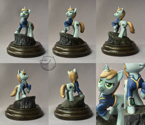Littlepip [figurine] by CadaverCrafts