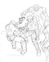 Trando assault, again by commander-13