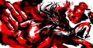 Super Villain FLAME by timwork