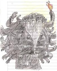 100 manos para 50 cabezas by KyonKyonSoy