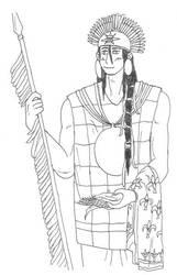 Hetalia OC: Father Inca by KyonKyonSoy