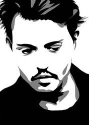 School Work - Johnny Depp by NaiVeKID