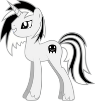 OC Pony Vector - Ghost Dude by hombre0