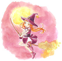 Halloween Witch by Marc-G