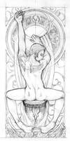 art nouveau inspired - 2 by Marc-G