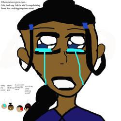 When Katara goes emo... by AzarRuby