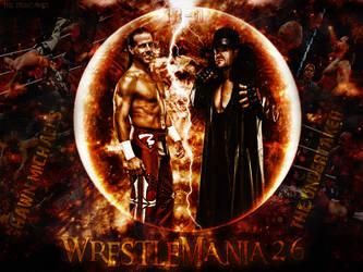 Shawn Michaels Vs Undertaker - WrestleMania 26 by thetrans4med