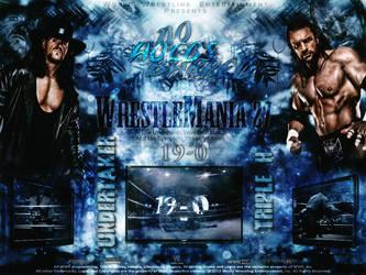 WrestleMania 27 .. The UnderTaker Vs Triple H by thetrans4med