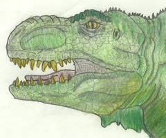 Old T-Rex by avatarblade2000