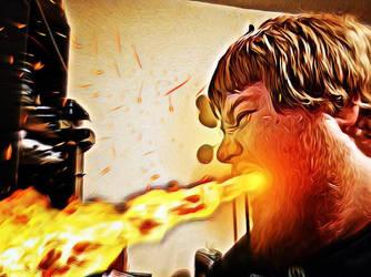 Fiery by avatarblade2000