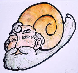 Snail Dude by avatarblade2000