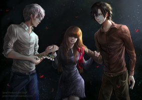 mystic messenger - (Commission) by JaneVindom