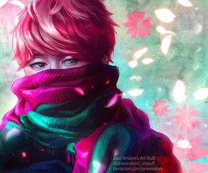Jimin BTS fan art by JaneVindom