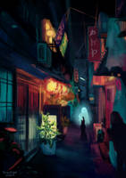 Japan street ver. 2 by DreamThestral