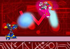 X VS Zero by sammychan816