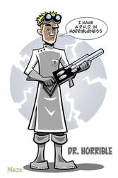 Dr. Horrible by b-maze