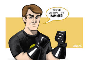 The Hammer by b-maze