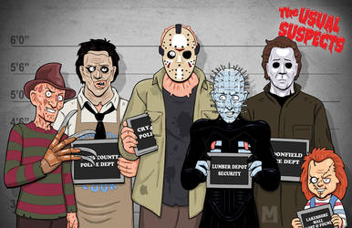 Usual Suspects - Slasher Edition by b-maze