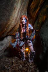 Diablo III Barbarian by kn8e