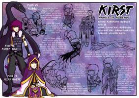 Kirst Character Sheet by H0lyhandgrenade